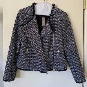 J.Crew tweed crop jacket
